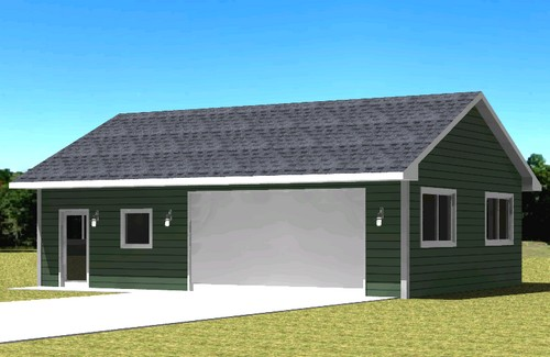 Plan 430200 Custom Garage Plans
