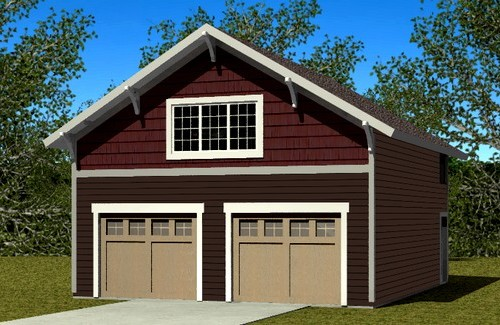 Plan 431100 Custom Garage Plans