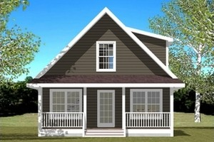 cabin house plan design