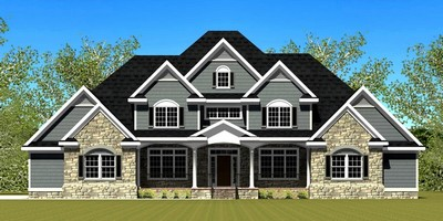 large house plan design