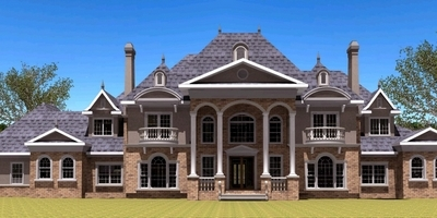 luxury house plan design
