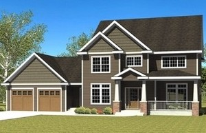 american house plan design